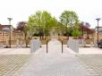 La cour d'honneur après travaux - 4 avril 2014 - ©J-Y Le Grand-Bréban