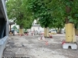Vue générale avant finitions vue du boulevard Joffre - 28 juin 2013 - © J-Y Le Grand-Bréban